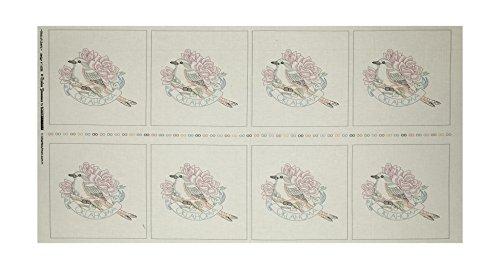 (Robert Kaufman Kaufman Birds of Liberty State Blocks Oklahoma 24in Panel Fabric)