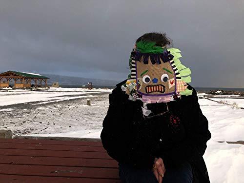 Traditional Burlap Cajun Courir de Mardi Gras masks and costumes — Mardi Gras Masks & Costumes for Courir de Mardi Gras chicken chase, Halloween, masquerade, carnival ()