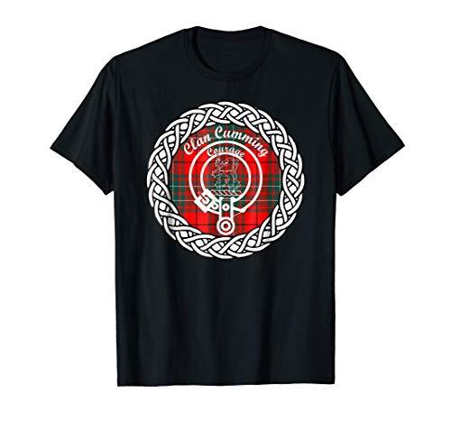 - Cumming surname last name Scottish Clan tartan badge crest