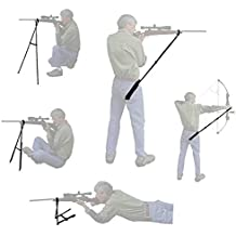 SnakeLook Bipod Shooting Sticks - Universal Shooting Rest for Rifle, Pistol, Crossbow, Shotgun, Archery - Perfect for Standing, Kneeling, Sitting, & Prone Shooting Positions