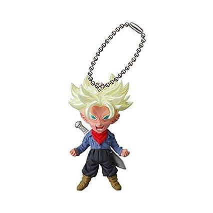 Dragon Ball Z DBZ Trunks Figure Keychain Ring UDM BURST 22 Gashapon Capsule