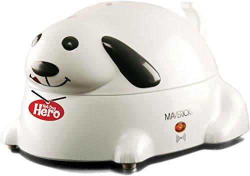 Maverick HC-01 Hero Electric Hot-Dog Steamer, White