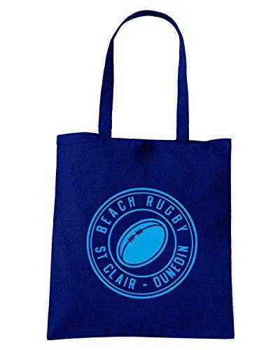 T-Shirtshock - Bolsa para la compra TRUG0087 ruggershirts beach rugby hoodie logo Azul Marino