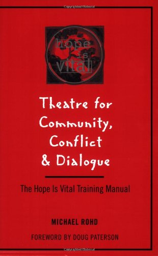 Books On Acting in Amazon Store - Theatre for Community Conflict and Dialogue
