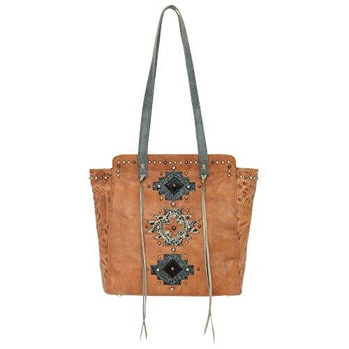 American Handbag Western West (3415534 American West Women's Navajo Soul Purse -Tan)