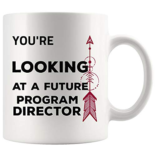 Future Program Director Mug Coffee Cup - Programming Teacher Teaching School Graduation Gift for Student Teacher Back To School Graduate