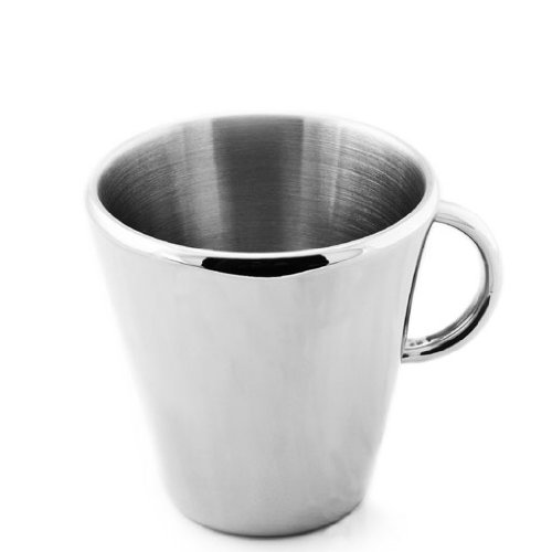 Amazoncom Toolbar Double Wall Stainless Steel Coffee Mugtea Cup