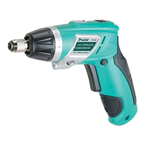 Pro'skit PT-1361G Lithium Rechargeable Drill Rechargeable