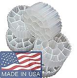 K3 Filter Media PREMIUM GRADE Moving Bed Biofilm Reactor (MBBR) for Aquaponics • Aquaculture • Hydroponics • Ponds • Aquariums by Cz Garden Supply