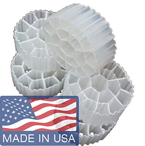 K3 Filter Media PREMIUM GRADE Moving Bed Biofilm Reactor (MBBR) for Aquaponics • Aquaculture • Hydroponics • Ponds • Aquariums by Cz Garden Supply ()