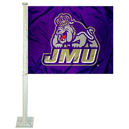 College Flags and Banners Co. James Madison Dukes Car Flag (Car Flag Duke)