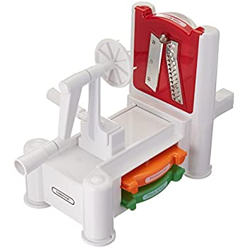 Farberware Spiraletti Spiral Vegetable Slicer with Three Colored Blades