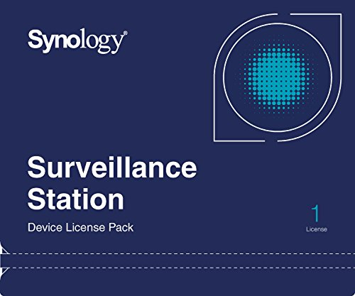 Software : Synology IP Camera License Pack for 1 (CLP1)