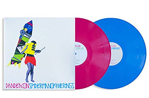 Dan Deacon ‎– Spiderman Of The Rings Deluxe 10th Anniversary Edition Limited to 750 copies Exclusive Blue and Magenta 2XLP Vinyl