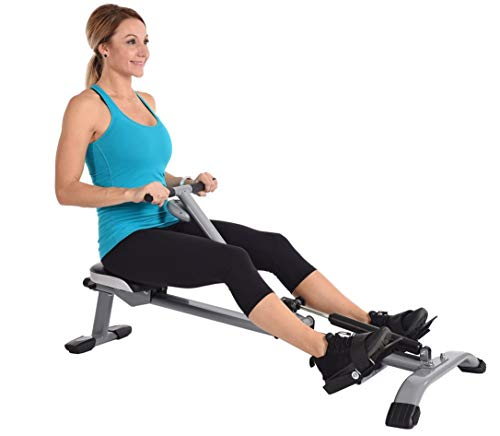 Rowing Machines for Home Use Seated Row Exercise Compact Home Gym Workout Fitness Cardio Training Lightweight Space Saving Hydraulic Resistance