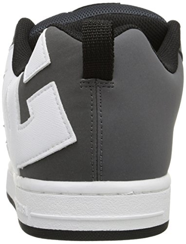 Grey DC US Emerald 5 Graffik Court Carbon Shoe Men's Skate 9 White rw6vrqxZ