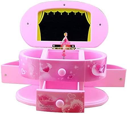 FairOnly Maquillaje Multifuncional Forma de Espejo Caja Musical ...
