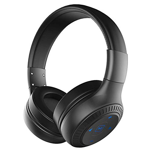 B20 Wireless Bluetooth Headset with HD Sound Bass Stereo Over The Ear Headphone with Mic Earphone for iPhone Android,A1