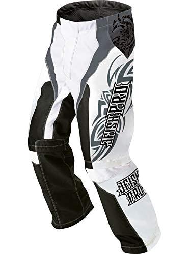 J-FISH ジェイフィッシュ メンズ PRO EXTREME RIDER PANTS-プロ エクストリーム ライダーパンツ- JEP-38210 B07MQ41W83 BLACK×WHITE-L
