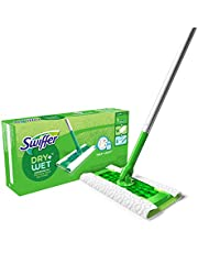 Swiffer Sweeper Dry + Wet Floor Mopping & Cleaning Kit with Heavy Duty Cloths, Includes: 1 Mop, 19 Refills 1 count