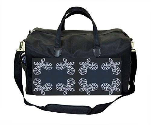 - Jeweled Butterflies PRINT DESIGN Weekender Bag