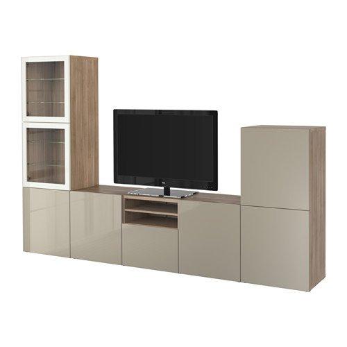 Ikea 2202.262026.62 - Mueble de TV con Puertas y cajones de Cierre ...