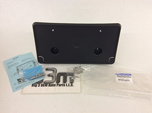Dodge Ram 1500 Front License Plate Mount Bracket Holder Mopar OEM (Mopar License Plate Bracket compare prices)