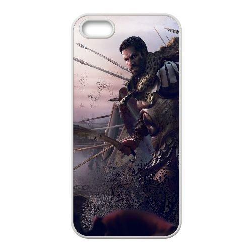 Q8G36 guerre totale rome hannibal aux portes X0G7EL coque iPhone 4 4s cellulaire cas de téléphone couvercle de coque de RU6JZD8NQ blanc