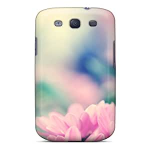 Pink Daisies Case Compatible With Galaxy S3/ Hot Protection Case
