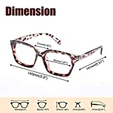 JiSoo Reading Glasses for Women 1.5