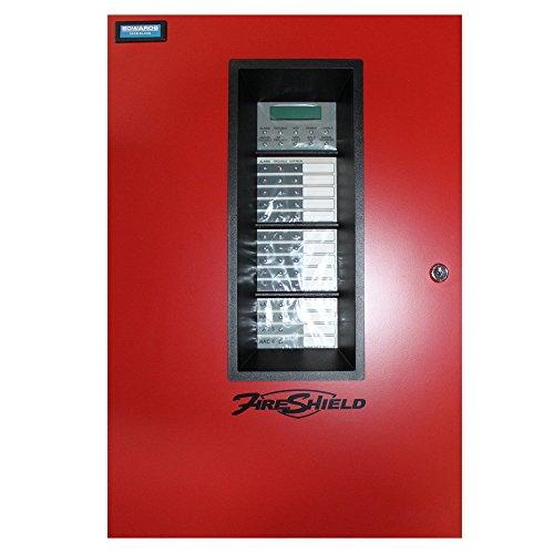 Est Edwards E-FS1004RD Fireshield 10 Zone Fire Alarm Control Panel, W/Dact