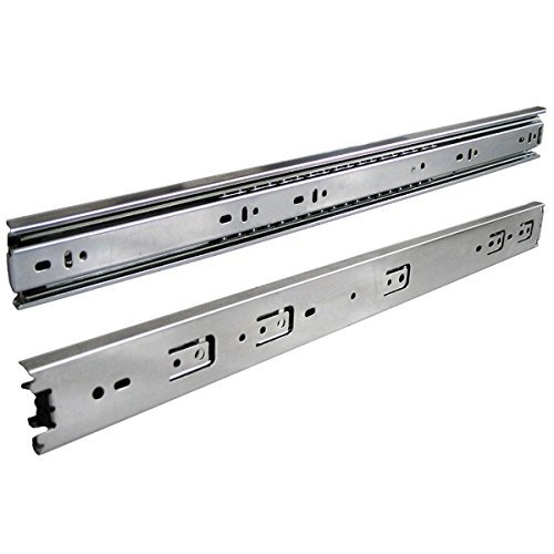 Pack of 10 Pairs (22 Inches Full Extension Drawer Slides)(LSI)
