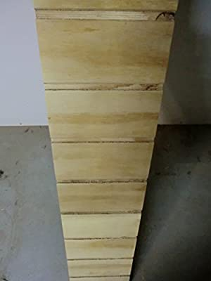 Elmato 24116 - Rampa de madera, escalera para conejo jaula, Free ...