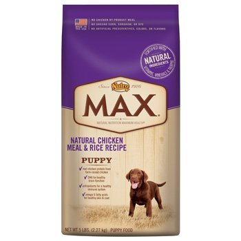 Max Dog Natural Chicken Meal and Rice Recipe Puppy Food, 30-Pound, My Pet Supplies