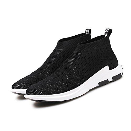da Madaleno Nero Tennis Basse corsa all'aperto Respirabile Corsa Sneakers Sportive Ginnastica Uomo Outdoor Running Scarpe 1 wgpq4wA