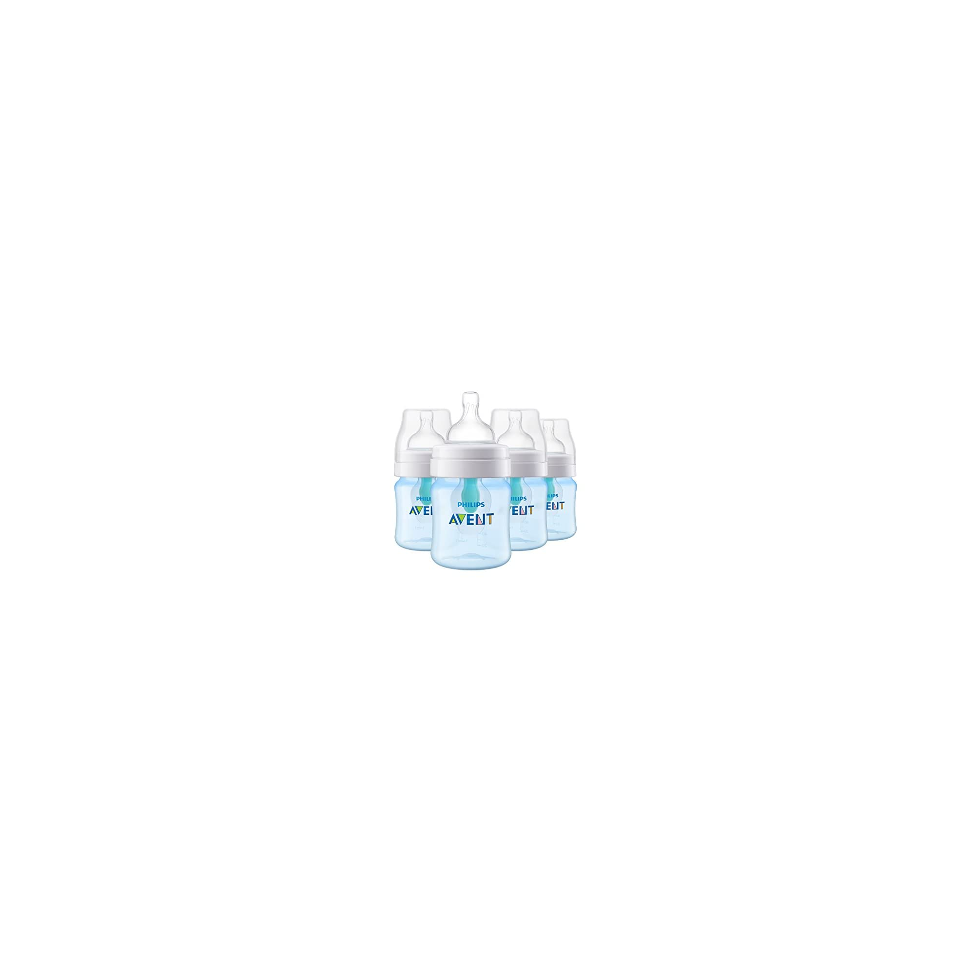 Philips Avent Anti-colic Bottle with AirFree vent 4oz 1pk, SCF400/14