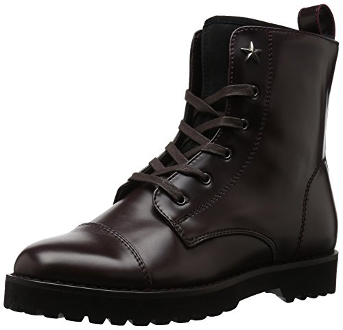 PALMYR Burgundy Hilfiger Boot Tommy Women's nYqwHExR