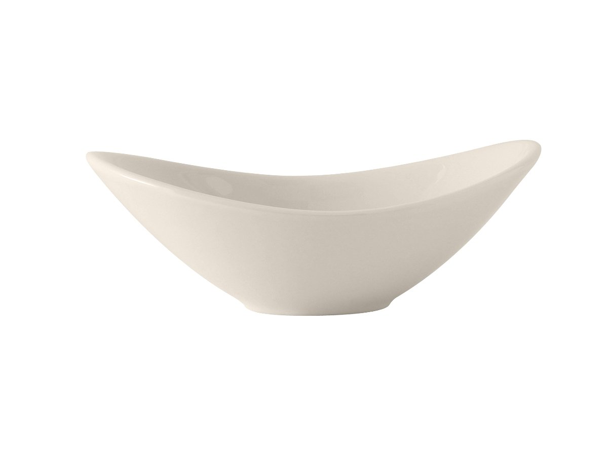 Tuxton BED-0707 Vitrified China Capistrano Bowl, 7' x 5-1/2', 10 oz, Eggshell (Pack of 12), 7 x 5-1/2 TXTNC0220