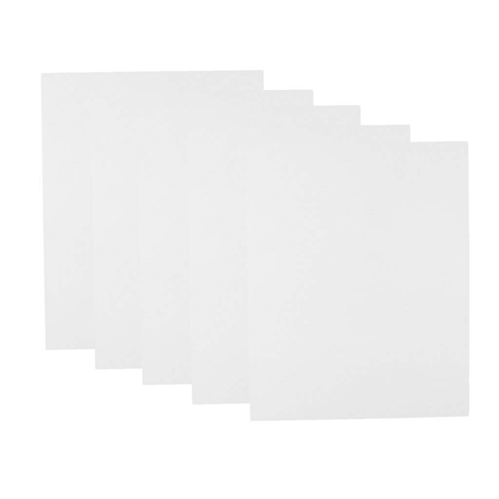 dailymall 5PC ABS Sheet Model Craft Plate for DIY Sand Table Scene 200x250x0.5mm