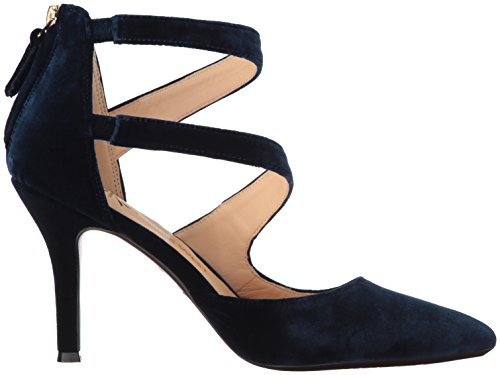 Nine West Damen Florent9x9 Riemchenpumps Blau (French Navy)