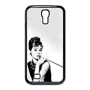 Samsung Galaxy S4 9500 Cell Phone Case Black Audrey Hepburn mee