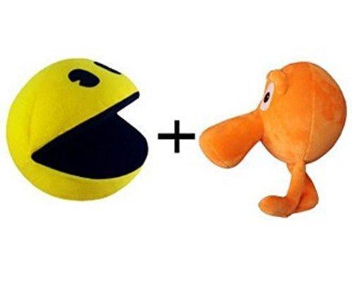 pixels-q-bert-and-pac-man-plush-toys-set-of-2