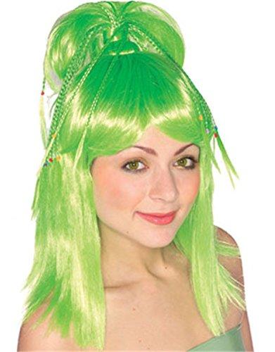 Rubie's Costume The Genie Wig, Green, One (Green Genie Costume)