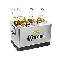 Cerveza Corona y cubo de hielo - Acero inoxidable