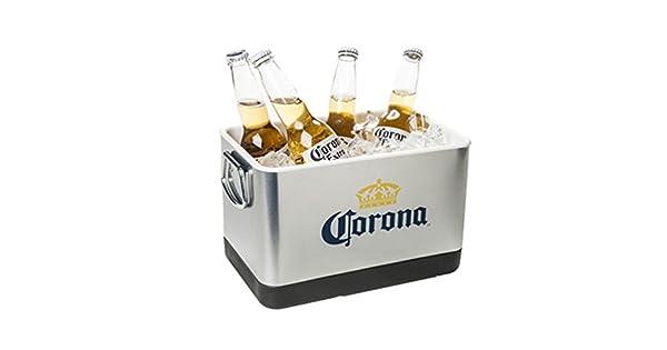 Amazon.com: Corona Cerveza & cubeta de hielo, acero ...