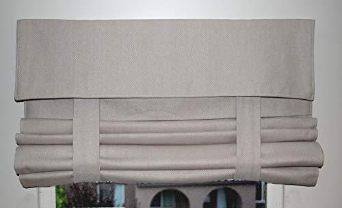New! Tan Herringbone French Door Curtain