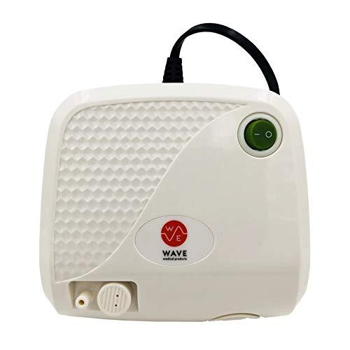 Compressor System Kit Cool Mist Inhaler with Travel bag by Wave Medical Products