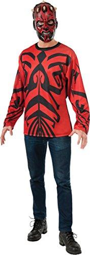 Maul Darth Costume Ideas (Rubie's Men's Darth Maul Top Mask Adult Costume)