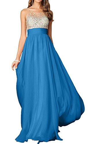 Partykleider mia Rosa Damen Tanzenkleider Lang La Abendkleider Chiffon Kleider Steine Braut Dunkel Blau Jugendweihe wd8AEAxqI