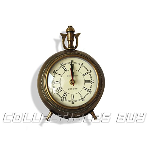 Collectibles Buy Antique Table Clock, Marine Functional Desk Watch, Nautical Roman Clock, Vintage Retro Decorative Clocks, Perfect Gift Idea, Halloween Gifts